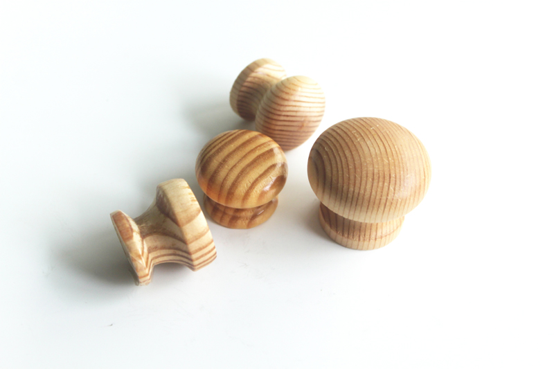 Small Round Wooden Knobs Wooden Cupboard Knobs China