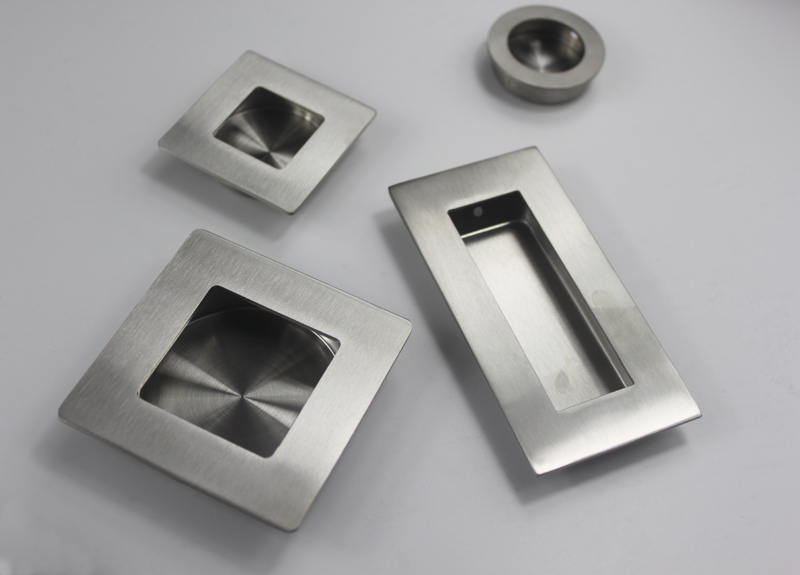 furniture stainless steel recessed cabinet handle