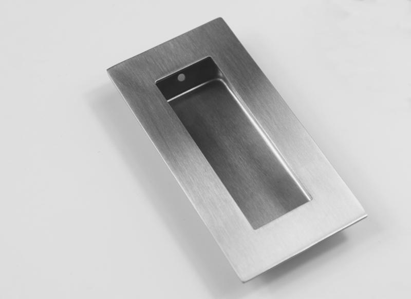 custom flush pull handles