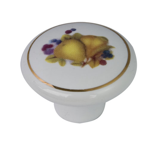 wholesale decorative colorful porcelain knob