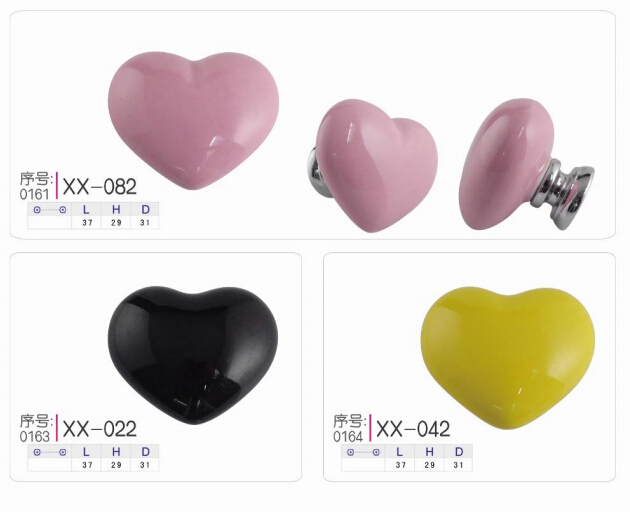 heart-shaped ceramic knobs manufacturers