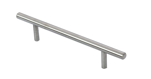 T BAR stainless steel handle for kitchen cabinet hollow and solid