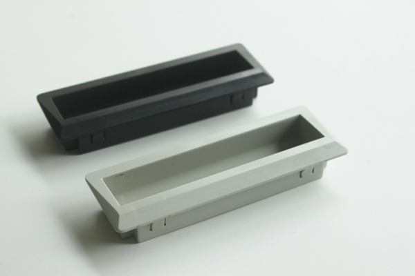 abs plastic recessed handles