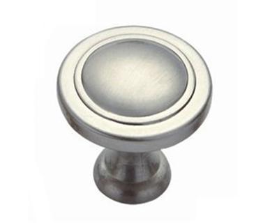 Easy design popular mushroom shape brushed nickel furniture knob
