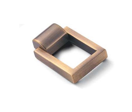 Zamac diecast Furniture cabinet golden knobs