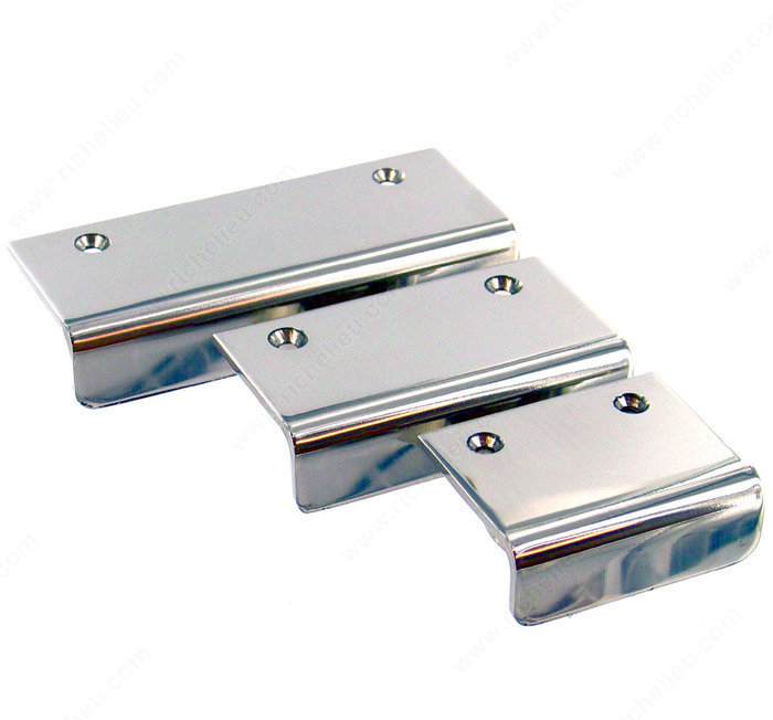 new edge pull stainless steel