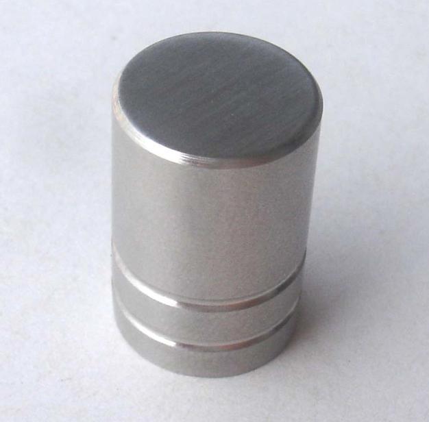 stainless steel button knob