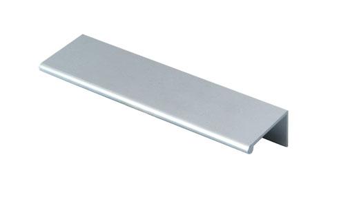 For Kitchen Cabinet Aluminum Edge Pull Aluminum Handles