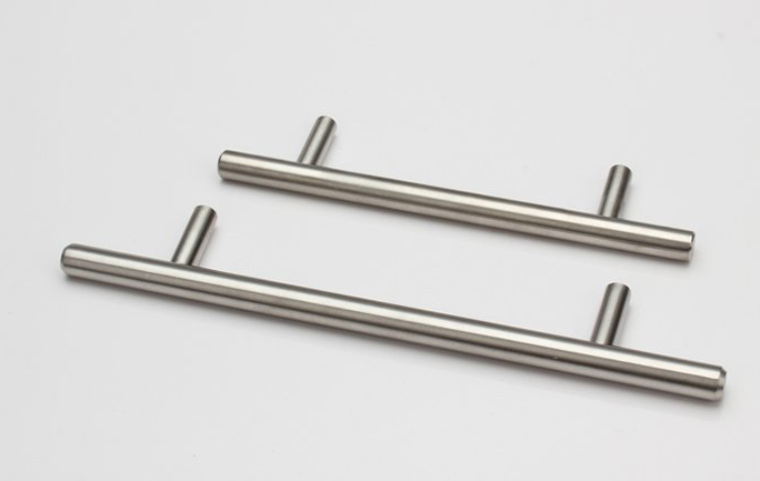 Stainless steel kitchen cupboard door handles