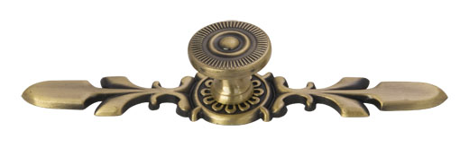 Antique Zinc Alloy Flat Drawer Handle