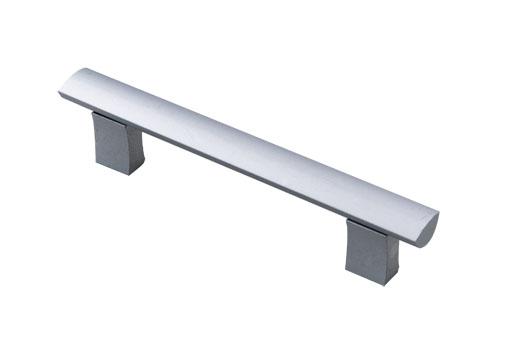 aliminum material silver door handles