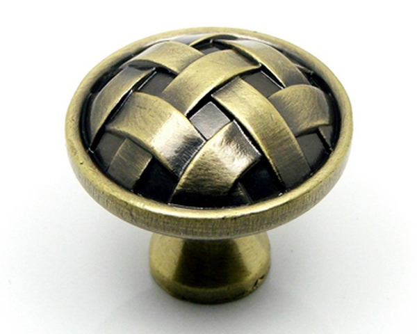 wholesale decorative zinc alloy with screw antique drawer knobs