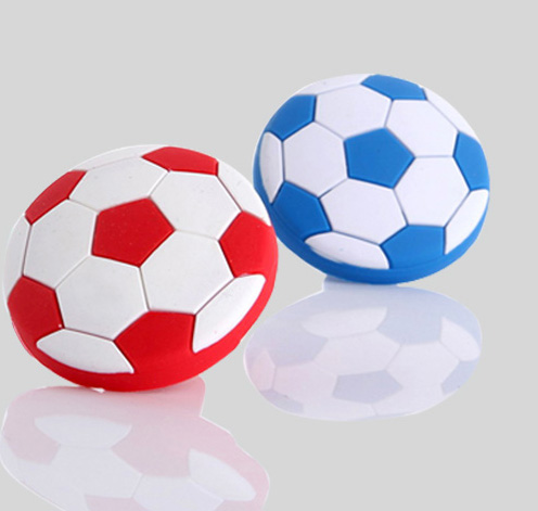 Furniture hardware rubber football drawer knobs