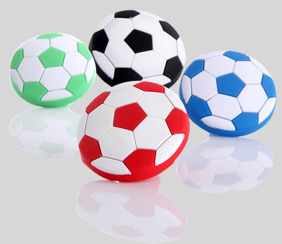 Decorative children football knobs