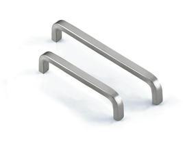 soild stainless steel cabinet pulls