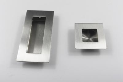 recessed door pull