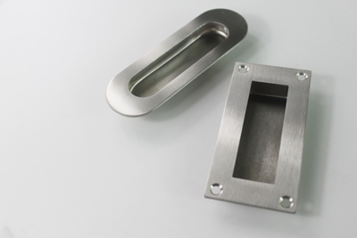 stainless steel flush pull handles