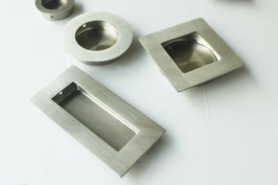 recessed ring pull