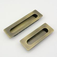 recessed wardrobe handles