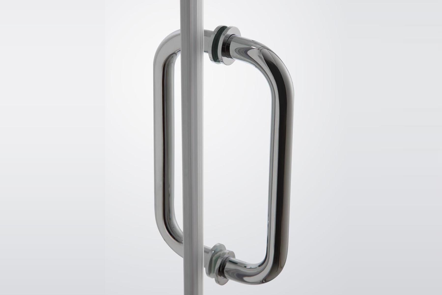 Double Sided Door Handle Of Stainless Or Br