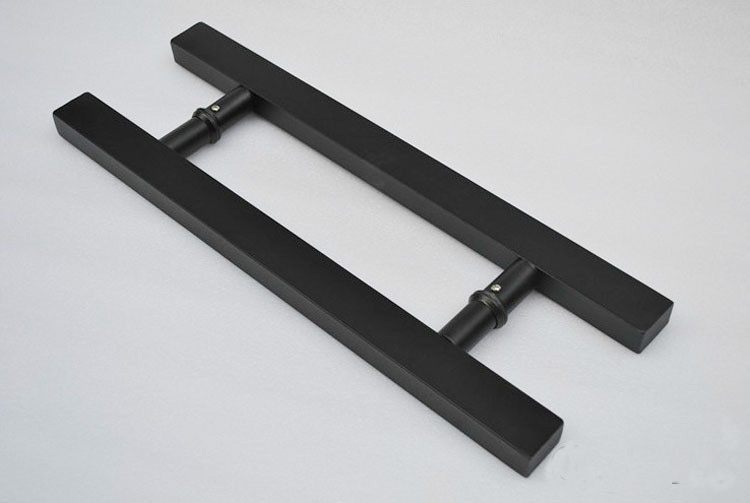 Chinese factory black door handles