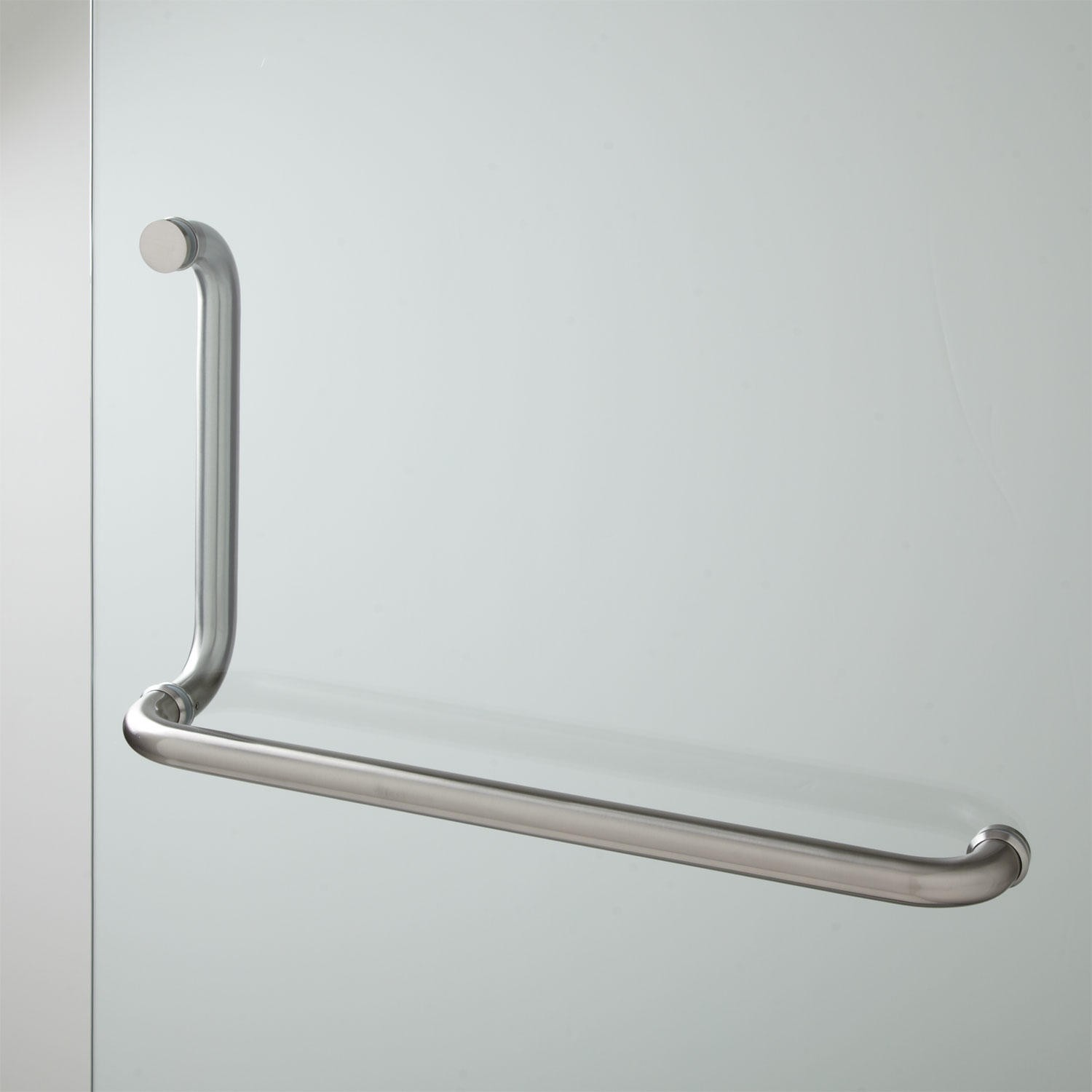 sliding door wavy shower enclosure handle