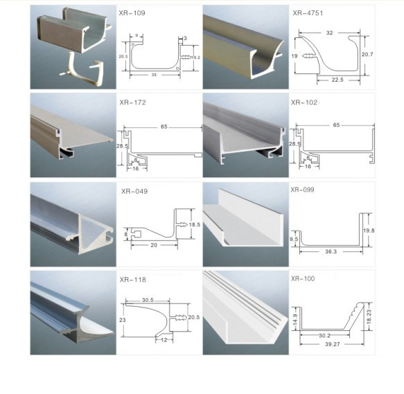 Extruded Aluminum Door Pulls Cabinet Door Handles From