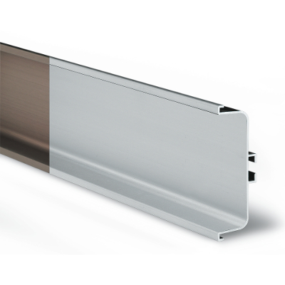 Made in China furniture aluminum profile for sliding wardrobes